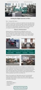 Marketing Example - Desk Systems