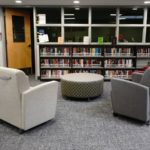 Media Technologies - Book shelves and seating