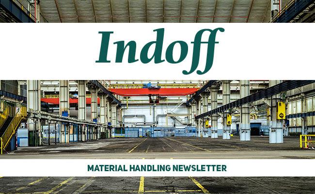 Material Handling Header for Newsletter