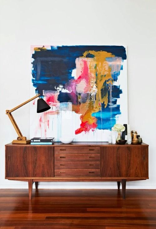 Colorful Painting as Statement Piece