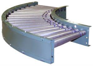 796prac Powered Roller Conveyor - Roach Conveyors