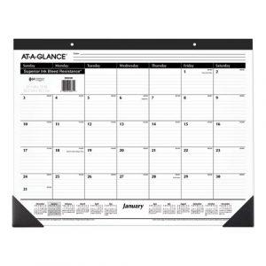 At-A-Glance Desk Calendar