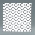 Wire Mesh Partition Panel with Expanded Metal