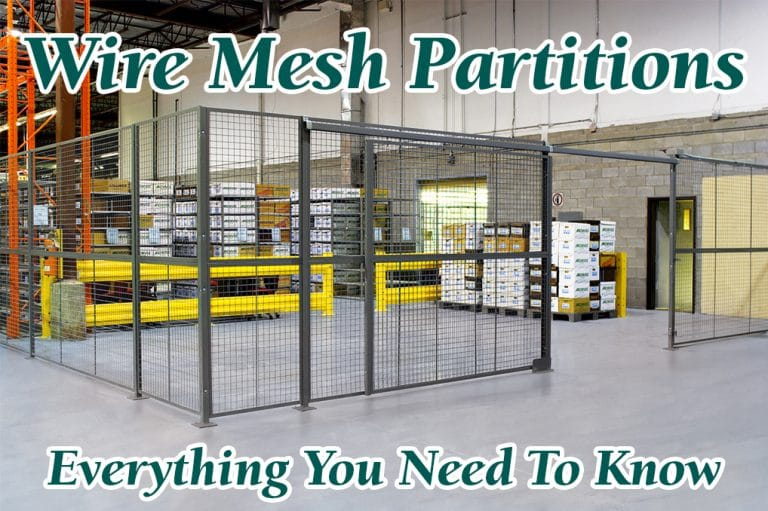 Wire Mesh Partitions - Everything You Need To Know in 2021