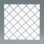 Wire Mesh Partition Woven Wire (10ga - 1.5in Diamond Pattern)