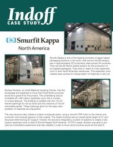 Smurfit Kappa, one of the worlds leading providers of paper-based packaging solutions, was in need of a new assembly room in their North American Warehouse. Their local Indoff Partner was able to work alongside them to create an inplant modular building that met all of their requirements.